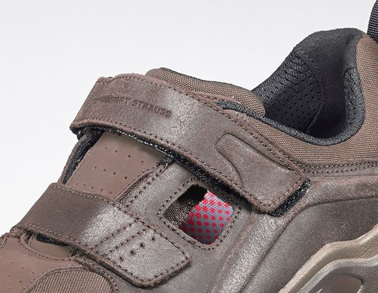 S1: e.s. S1 Safety sandals Siom-x12 + chestnut 2