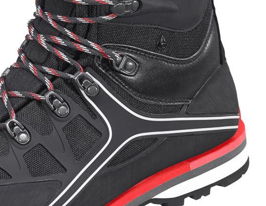 S3: e.s. S3 Sicherheitsstiefel Polyxo high + schwarz/rot 2