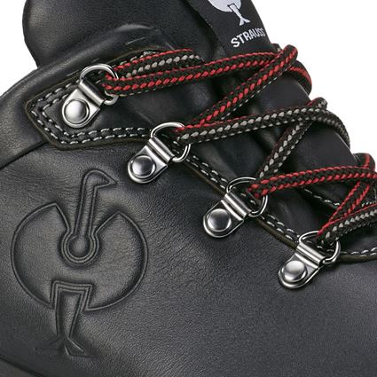 S3: S3 Safety shoes e.s. Umbriel II low + black/straussred 2