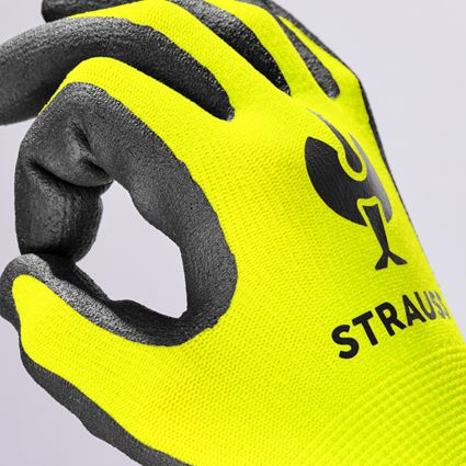 Accessories: e.s. Children's nitrile foam gloves + high-vis yellow 2
