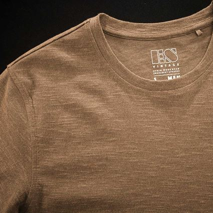 Shirts, Pullover & more: T-Shirt e.s.vintage + sepia melange 2