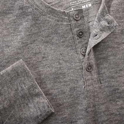 Shirts, Pullover & more: Long sleeve e.s.vintage + black melange 2