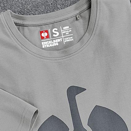 Shirts & Co.: T-Shirt e.s.concrete + perlgrau 2