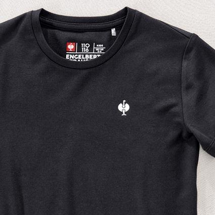 Hauts: Modal-shirt e.s. ventura vintage, enfants + noir 2