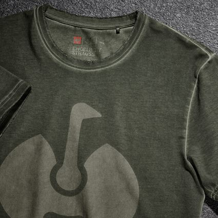 Shirts, Pullover & more: T-Shirt e.s.motion ten ostrich + disguisegreen vintage 2
