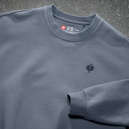 Shirts, Pullover & more: Oversize sweatshirt e.s.motion ten, ladies' + smokeblue vintage 2