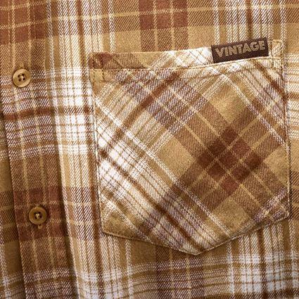 Shirts, Pullover & more: Check shirt e.s.vintage + sepia checked 2