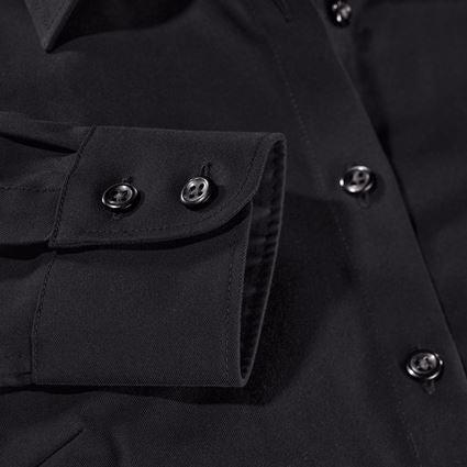 Shirts, Pullover & more: e.s. Business blouse cotton str. lad. regular fit + black 2