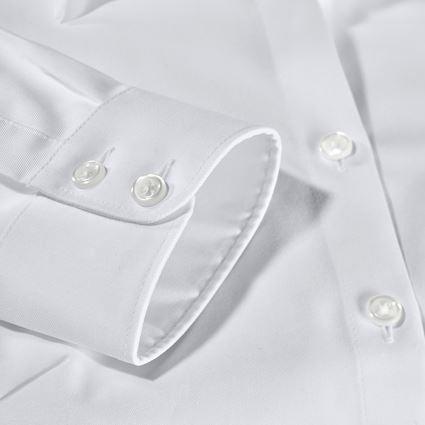 Hauts: e.s. Chemisier business cotton str. fem. reg. fit + blanc 2
