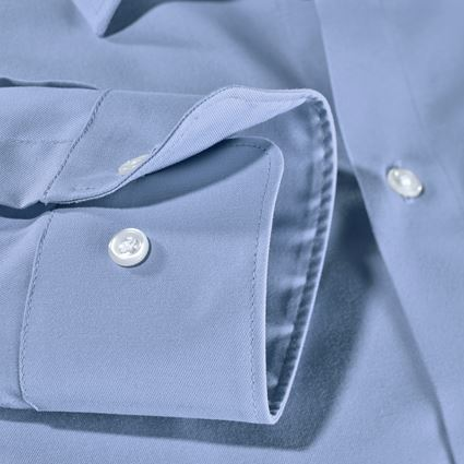 Shirts, Pullover & more: e.s. Business shirt cotton stretch, slim fit + frostblue 2