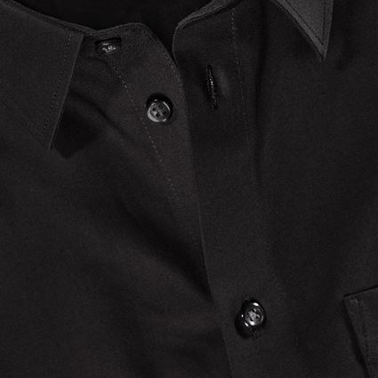 Shirts, Pullover & more: e.s. Business shirt cotton stretch, regular fit + black 2