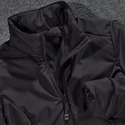 Work Jackets: e.s. Padded jacket CI, ladies' + black 2