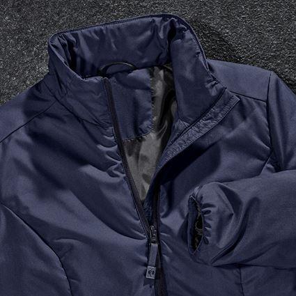 Work Jackets: e.s. Padded jacket CI, ladies' + navy 2
