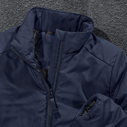 Jacken: e.s. Padded-Jacke CI, Kinder + dunkelblau 2