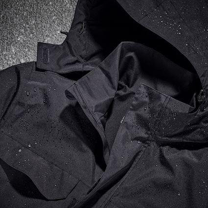 Jacken: Regenjacke e.s.concrete + schwarz 2
