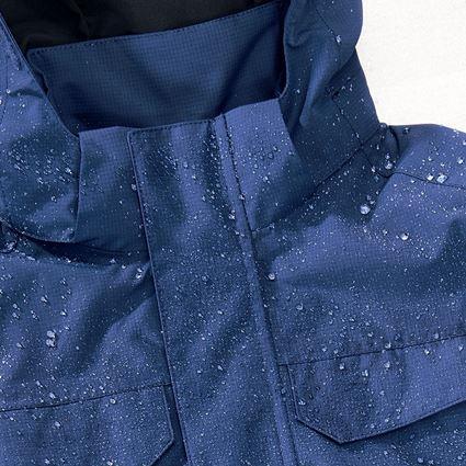 Vestes: Veste de pluie e.s.concrete, enfants + bleu alcalin 2