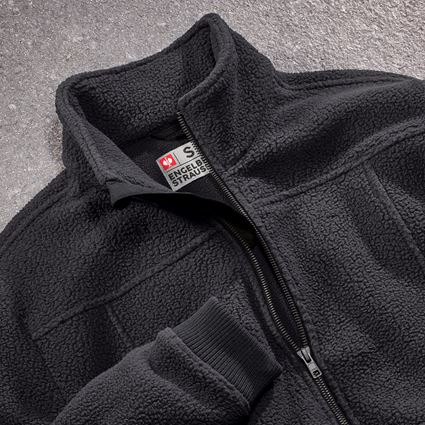 Vestes de travail: Veste polaire e.s.vintage + noir 2