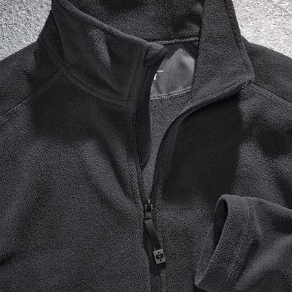 Vestes de travail: e.s. Veste en laine polaire CI + noir 2