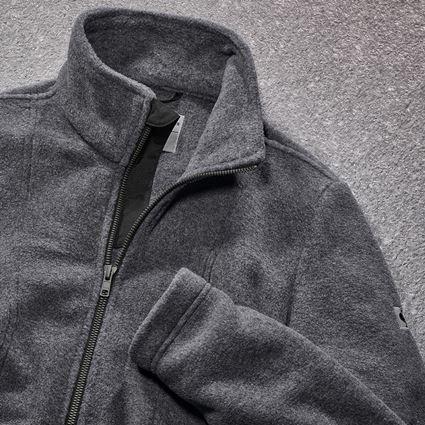 Work Jackets: Fleece jacket e.s.vintage, ladies' + black 2