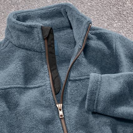 Vestes: Veste en laine polaire e.s.vintage, enfants + bleu arctique 2