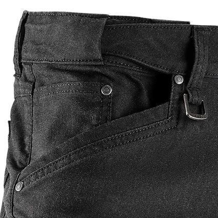 Hosen: Cargo-Short e.s.vintage + schwarz 2