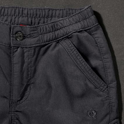Pantalons: Pantalon Cargo e.s. ventura vintage, enfants + noir 2