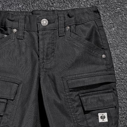 Pantalons: Pantalon Cargo e.s.vintage, enfants + noir 2
