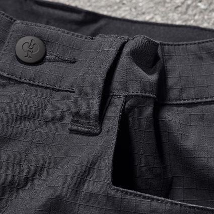 Pantalons: Pantalon à taille élast. e.s.concrete solid, enfan + noir 2