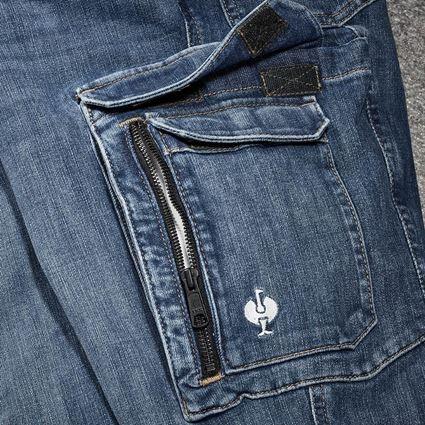 Hosen: Cargo Worker-Jeans e.s.concrete + stonewashed 2