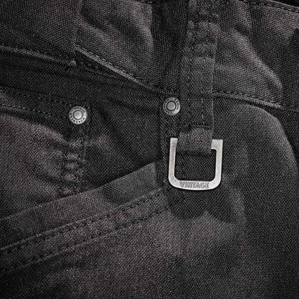 Hosen: Worker-Cargohose e.s.vintage + schwarz 2
