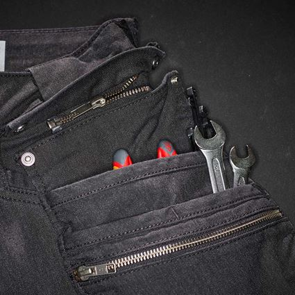 Work Trousers: Holster trousers e.s.vintage + black 2