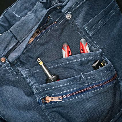 Work Trousers: Holster trousers e.s.vintage + arcticblue 2