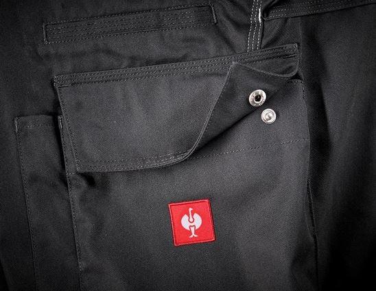 Pantalons de travail: Salopette e.s.industry + graphite 2