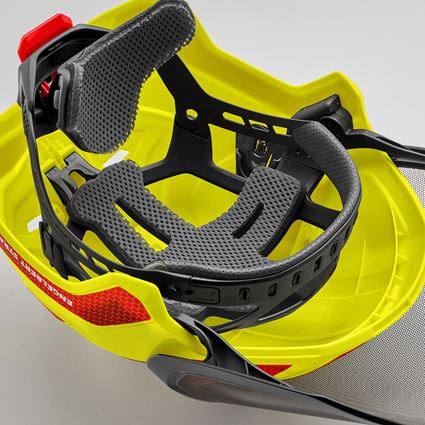 Personal Protection: Forsthelm Protos Set + STRAUSSbox 340 midi + high-vis yellow/fiery red 2