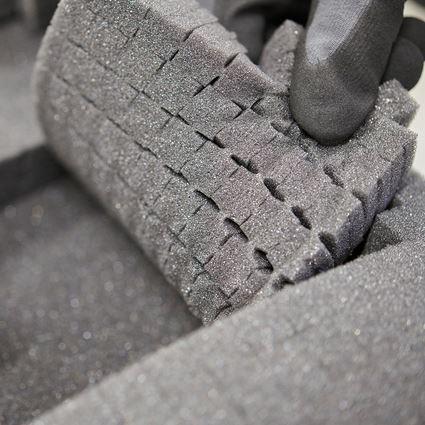 Tool Cases: Pre-cut foam insert STRAUSSbox 145 midi 2