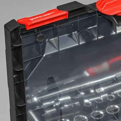 Tool Cases: Lid film incl. pins STRAUSSbox midi+ 2