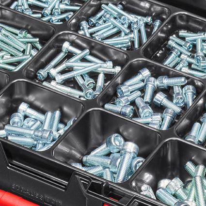 Schrauben: Zylinderschrauben-Sort. ISO 4762 STRAUSSbox midi 2