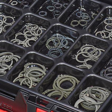 Kleinteile-Sortimente: Sicherungsringe DIN 471 in STRAUSSbox 118 midi 2