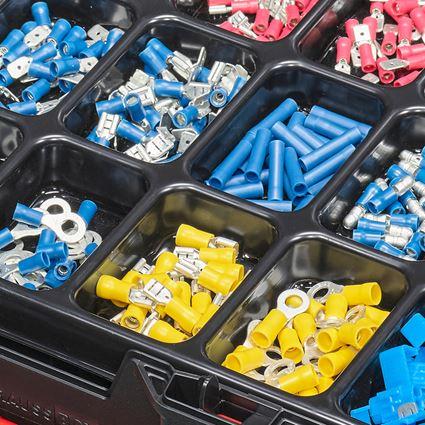 Kleinteile-Sortimente: Kabelverbinder isol.(Kfz) in STRAUSSbox 118 midi 2
