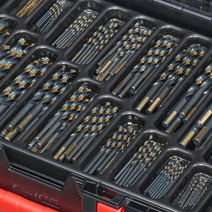 Drills: HSS-G metal spiral drill range turbo in a box 2