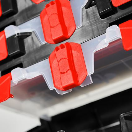 Werkzeugkoffer: STRAUSSbox mini Set 5 für 4 2