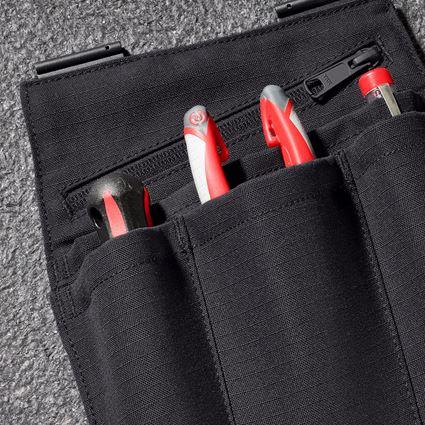 Accessoires: Werkzeugtaschen e.s.concrete solid, Damen + schwarz 2