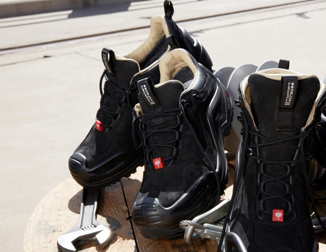O2: e.s. O2 Work shoes Themisto low + black