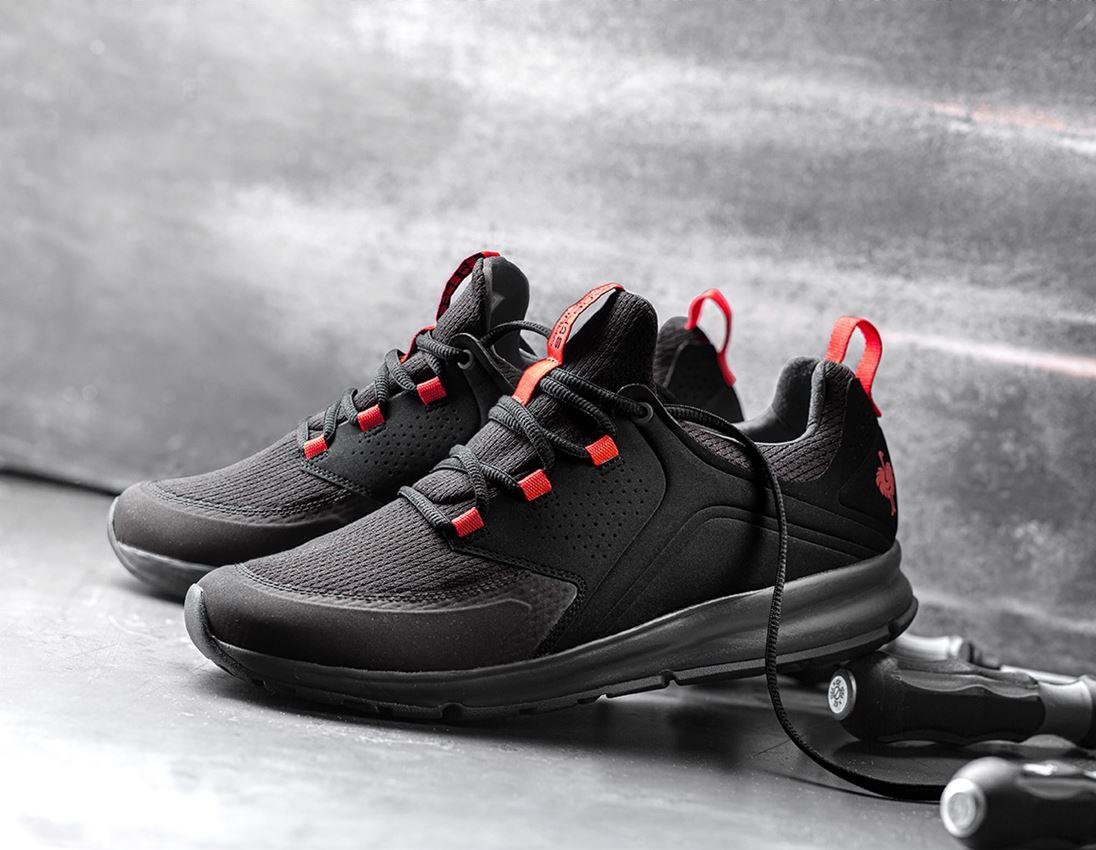 O1: e.s. O1 Work shoes Honnor, men's + oxidblack/red
