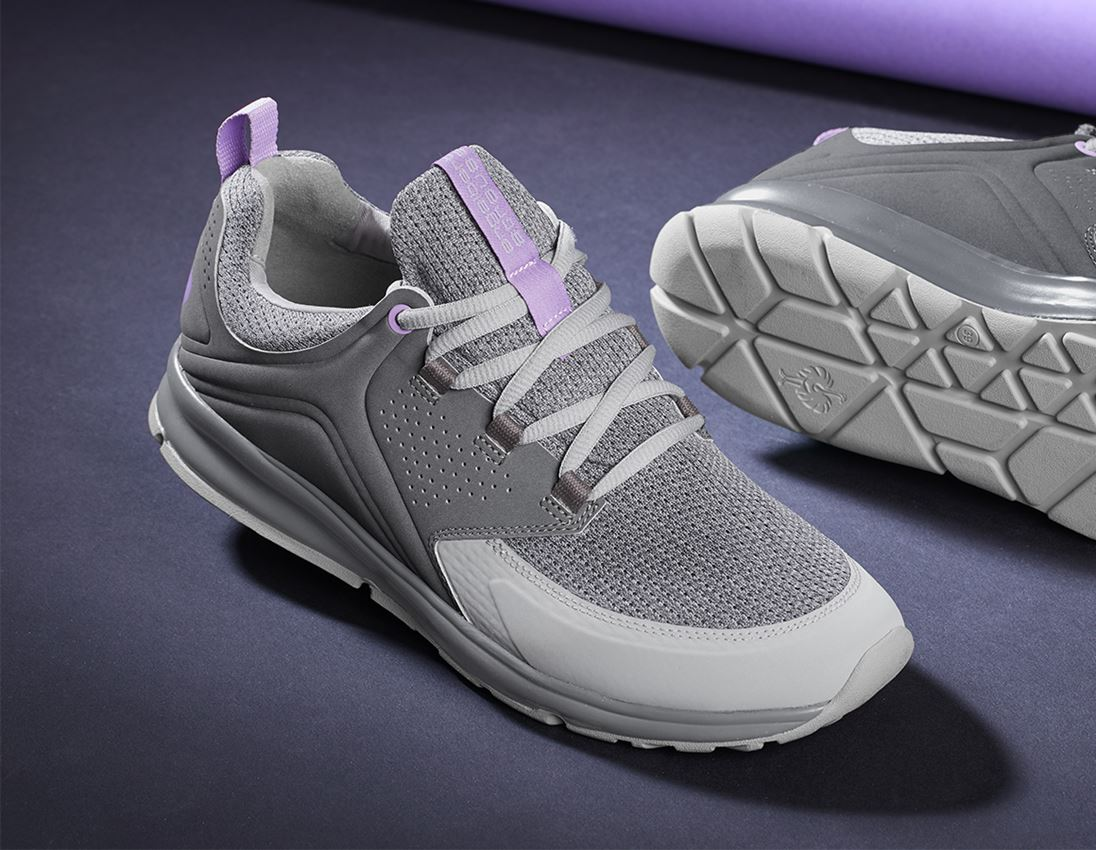 O1: e.s. O1 Work shoes Honnor, ladies' + cement/lavender