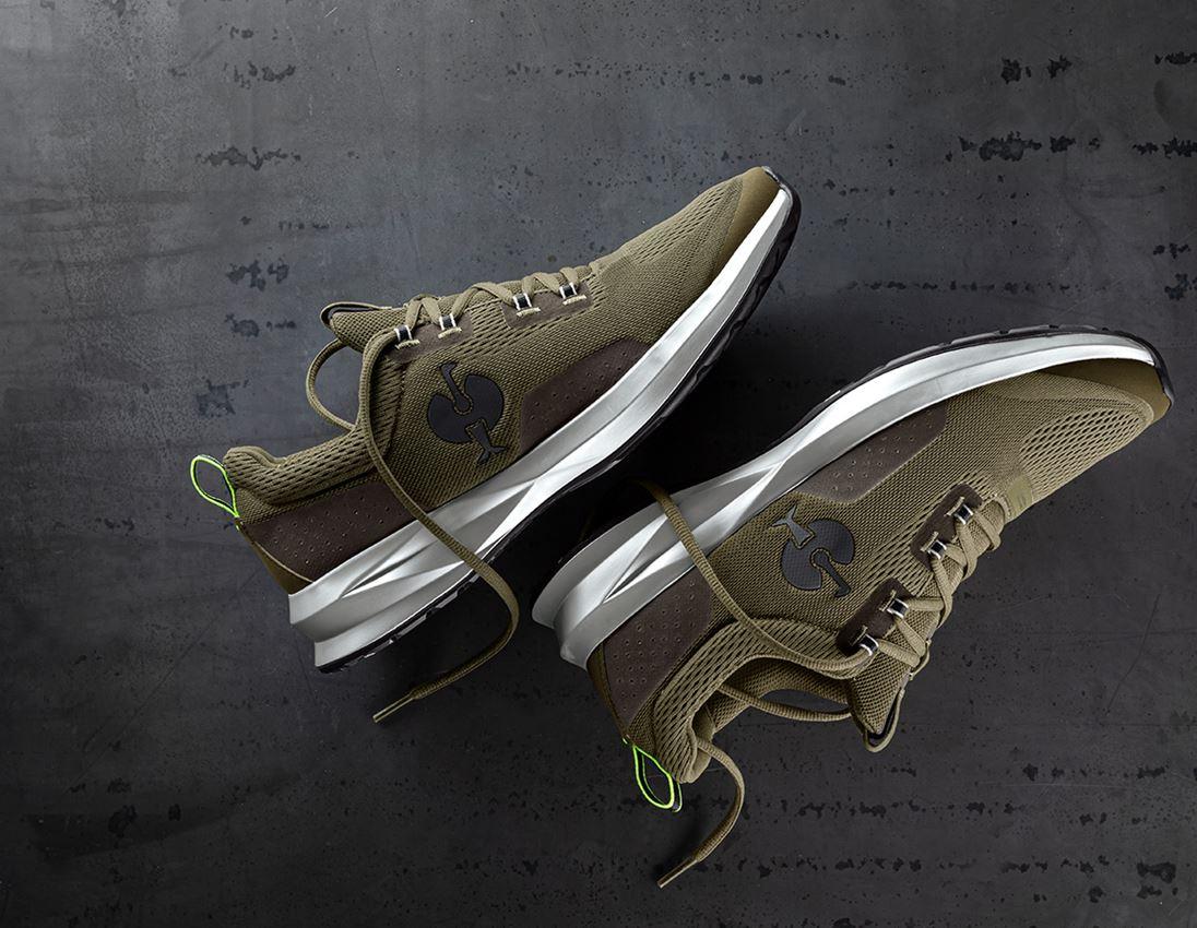 O1: O1 Work shoes e.s. Keran + mudgreen