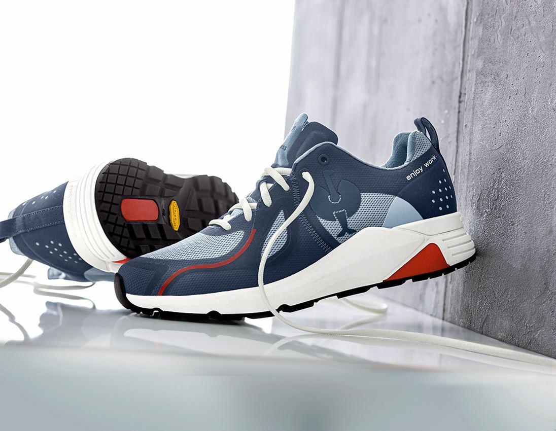 O1: O1 Work shoes e.s. Chete + ironblue/chalkblue