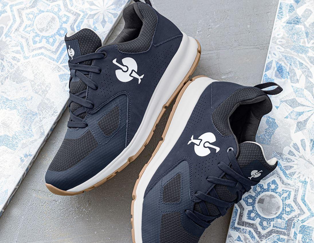 O1: O1 Work shoes e.s. Horen II + deepseablue/purewhite