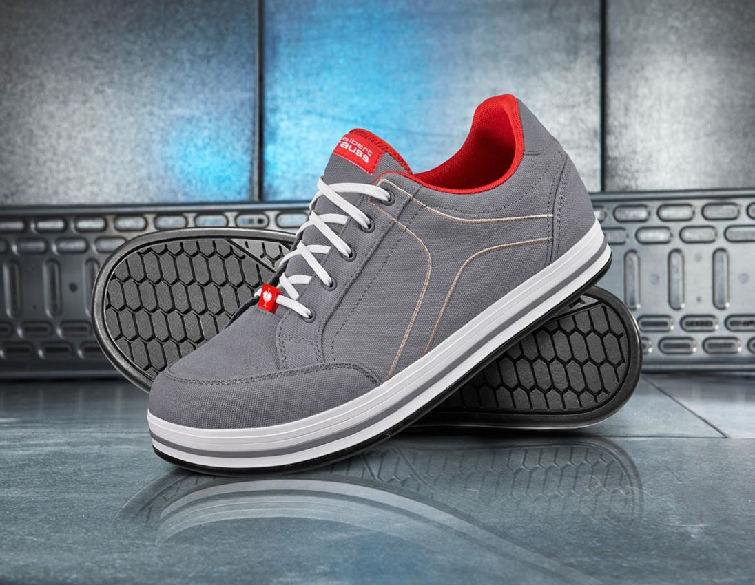 S1: e.s. S1 Safety shoes Tolosa low + cement/stone