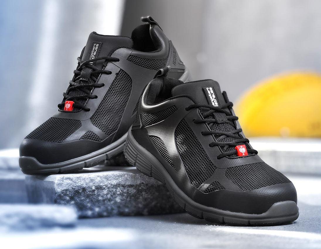 S1: e.s. S1 Safety shoes Romulus low + black
